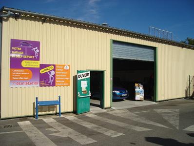 self garage et garage libre service